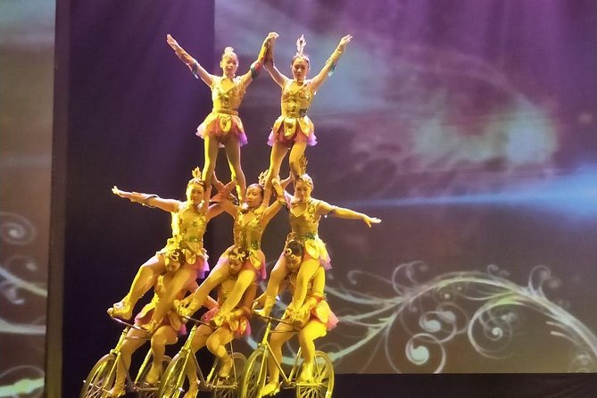 Private transfer For Acrobatic show with VIP seats in Chaoyang Threater