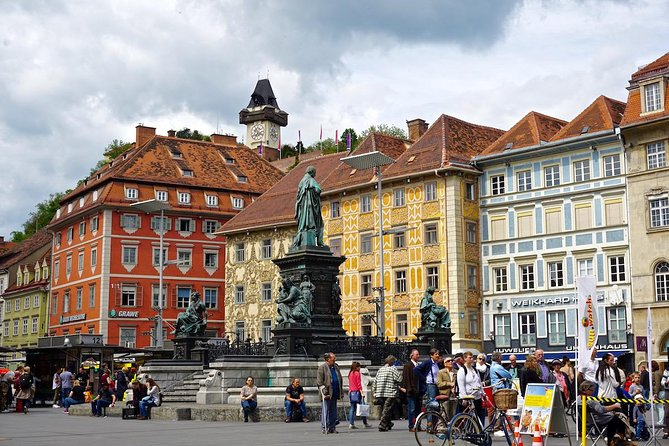 Reach Graz city stress-free