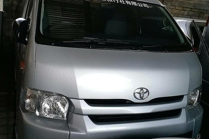 Bali Private Transfer Toyota Hiace-Airport to Jimbaran Area Max 10 Customer