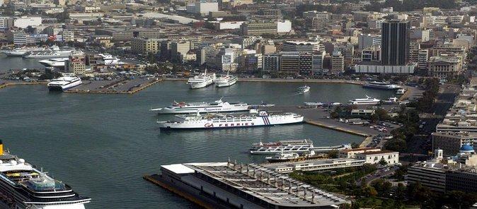 Athens airport to Piraeus port