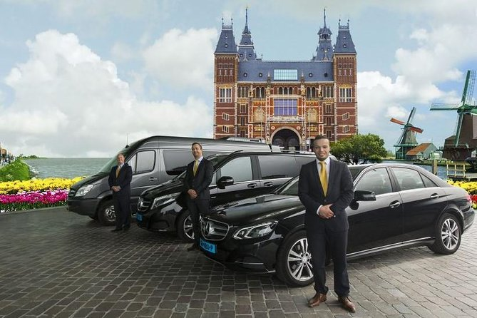 Private 1 - 23 persons Taxi or Bus Transfer Airport Amsterdam to Rotterdam