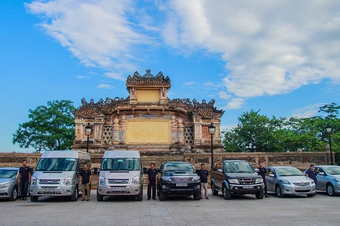 Sightseeing Transfer Hue - Danang by Private Car via Hai Van Pass