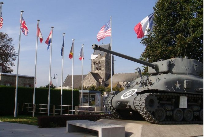 D-Day private tour Omaha + Utah Beach from Caen with audio guide