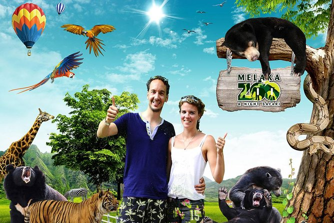 Melaka Zoo Night Safari Admission Ticket