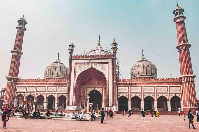 Old Delhi Rickshaw Ride & Guided Tour