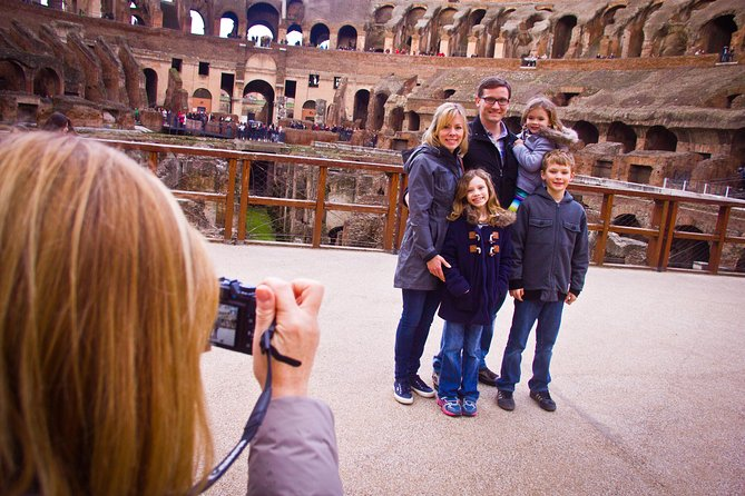 Colosseum and Roman Forum for Kids Private Tour