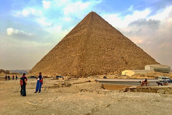 Down Town, Pyramids, & Sphinx Tour from Cairo Airport