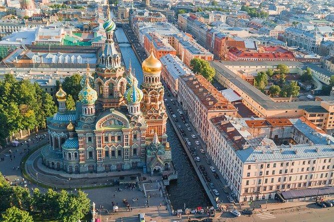 Tour guiado privado de 2 Días a San Petersburgo visitando el Museo Fabergé