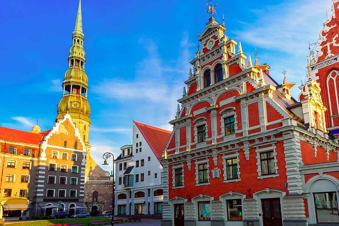 Riga-Latvia by Yourself with English Chauffeur - Business Car