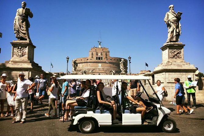 Rome Golf Cart Private Tour