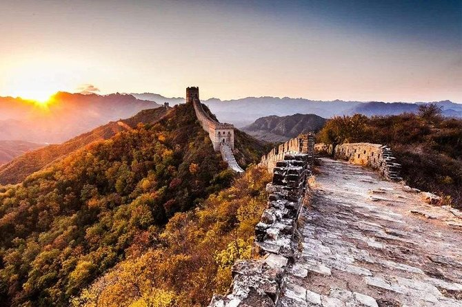 Private Day Tour to Great Wall at Commune and Longqing Gorge with Boat Ride
