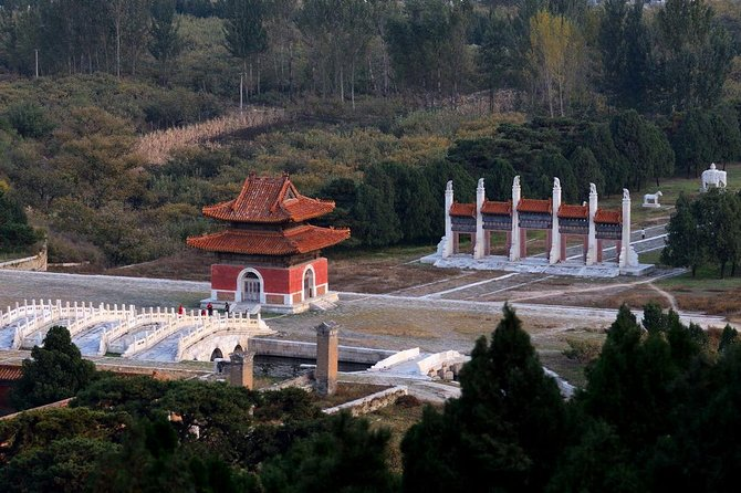 Tianjin Private Tour to Eastern Qing Tombs with Outdoor Hot Spring Experience
