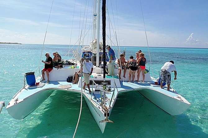 """FE"" Catamaran Sail and Snorkel Tour in Cozumel photo 9"