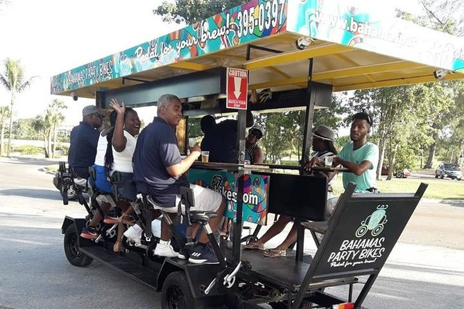 14-Seater Bike Rental inclusive of driver and host - 2 hours
