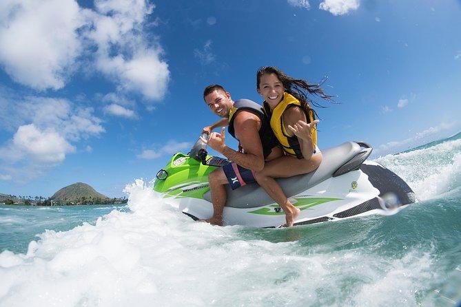 Alquiler de moto de agua en la bahía de Maunalua