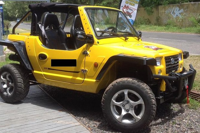 Moorea Mini Jeep Roadster Rental