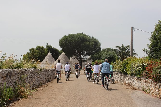 Private e-bike tour along Alberobello with lunch at local Masseria