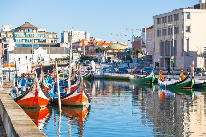 Excursão privada de meio dia em Aveiro saindo de Porto com cruzeiro fluvial por Moliceiro