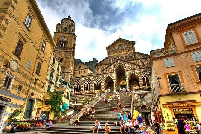 Rome to the Gems of Amalfi Coast: Positano, Amalfi and Ravello (max 16 people)