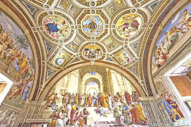Fast Access Vatican Raphael Rooms Sistine Chapel & St Peter Basilica guided Tour photo 1