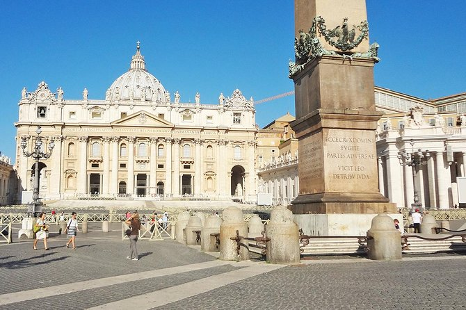 Hotel Pickup Fast Access Private Vatican Sistine Chapel & St Peter Basilica Tour