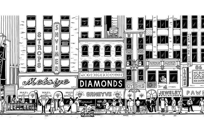 NYC Diamond District Jewelry Shopping Tour with Gemologists