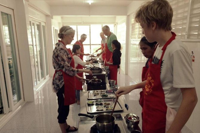 6 student, 2 Children Cooking Class
