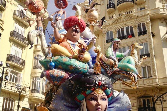 Dagtrip naar Las Fallas Fiesta in Valencia - Aanbod van de bloemen
