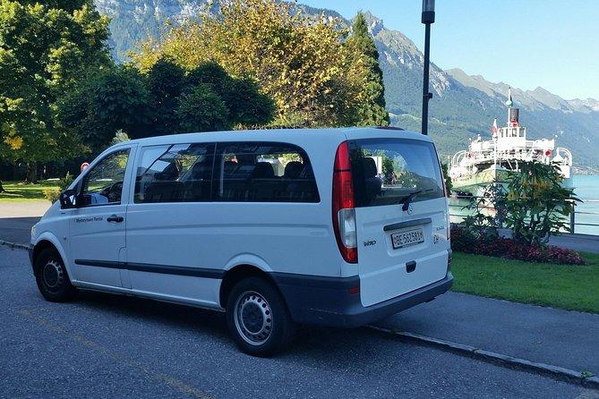 Interlaken Private Tour: Mountains Cows, Thun Lake, and Brienz Lake