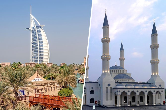 Old and Modern Dubai City Tour with Blue Mosque