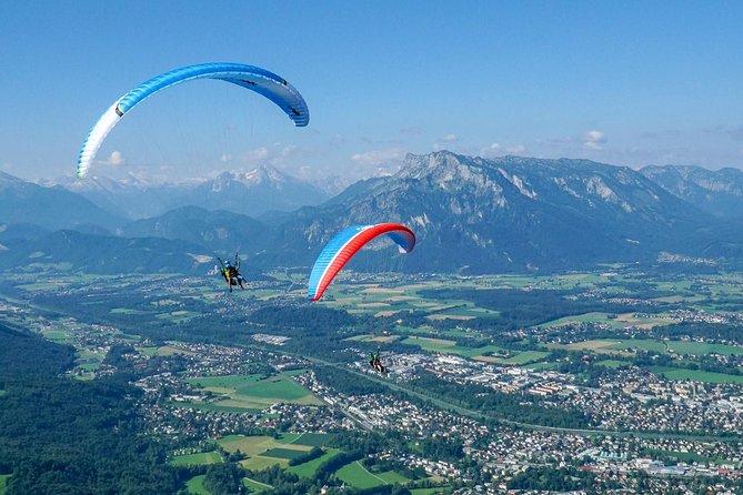 Tandem Paragliding Salzburg Mt Gaisberg