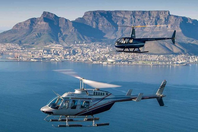 Helicopter, Wine Tasting & Picnic Lunch excluding entrance fees