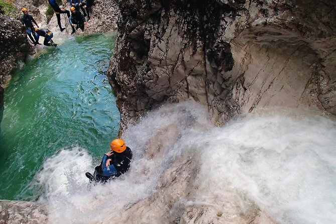 Canyoning in Susec Gorge from Bovec