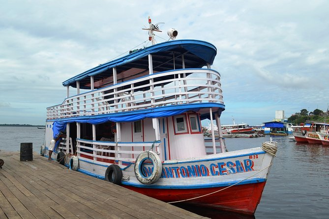 4-day Amazon River Boat Tour From Manaus
