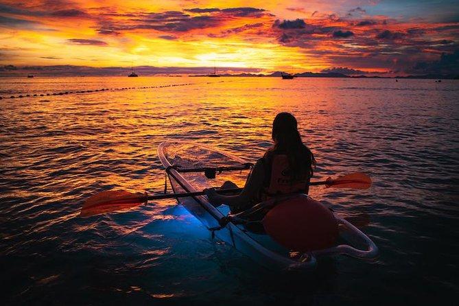 2-Hour Clear Kayak Bioluminescent Night Tour in Krabi
