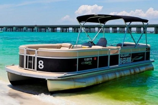 8 Hour Pontoon Boat Rental With Gilligan's Watersports - Arrive 45 Minutes Early photo 1