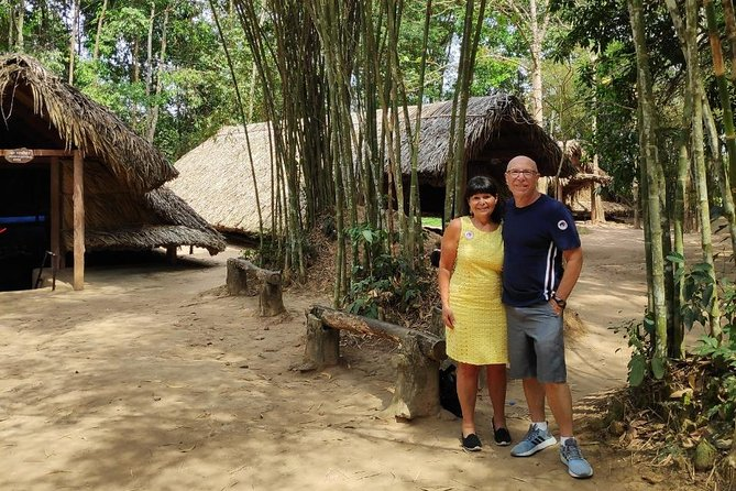 Special Shore Excursion: Cu Chi Tunnels by Car & Saigon City by Scooter