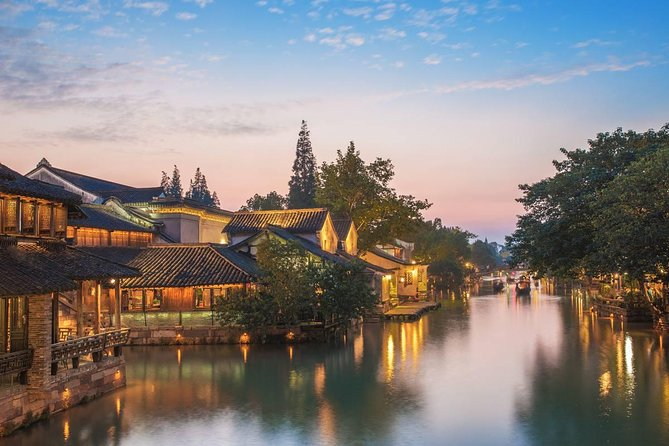 Delightful Wuzhen Water Town and Hangzhou City Highlights Private Day Tour
