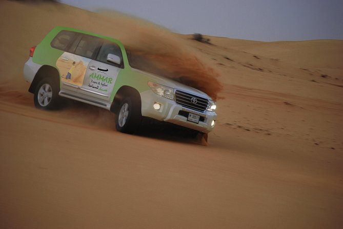 Private Desert Safari Red Dune with BBQ, Sand Boarding and Camel Ride