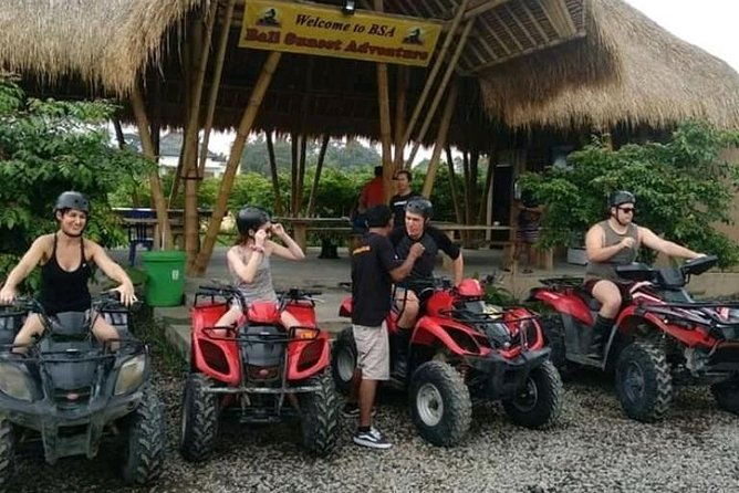 Bali ATV/Quard Bike and Ubud Tour All Inclusive