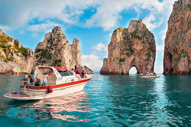 Capri Boat Excursion from Positano