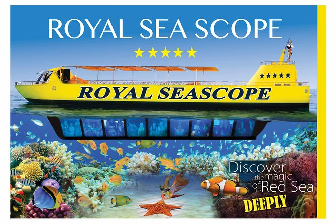 Royal Sea Scope Semi-Submarine & Snorkeling – Hurghada