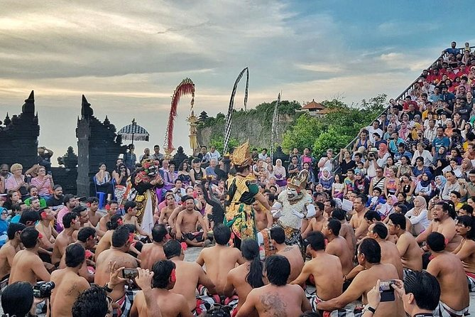 Ubud-Tanah Lot-Uluwatu Temple with sunset Kecak Dance