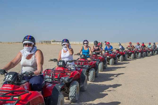 Super Safari Full day Quad Bike & Jeep with Camel ride With Dinner - Hurghada