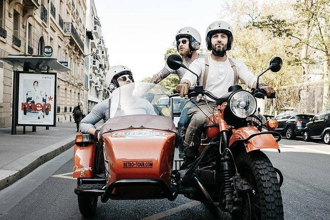 Half Day Vintage Tour On A Sidecar Motorcycle (2 Hours)