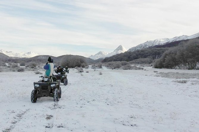 Half Day Snowshoes and Snowmobile at Ushuaia Blanca