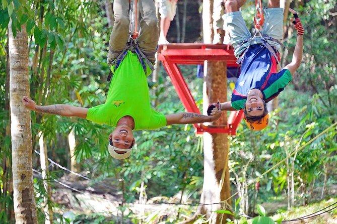 Aonang Fiore Zip Line Adventure in Krabi