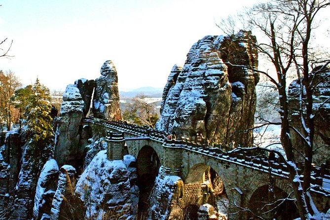 Best of Bohemian and Saxon Switzerland Day Trip from Dresden- Winter Tour