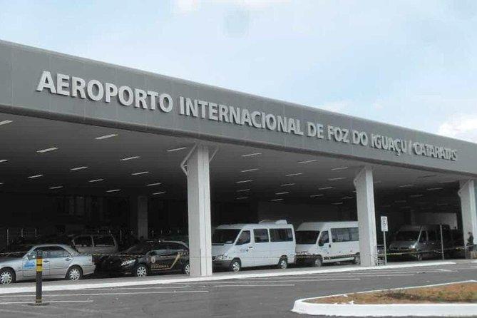 Traslado Aeroporto IGU/ Hotéis IGU + Duty Free