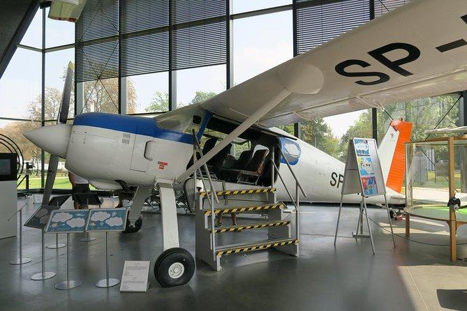 Entrance ticket to Polish Museum of Aviation - Polskie Muzeum Lotnictwa